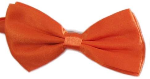 Strikje Satijn Luxe Oranje