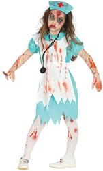 Halloweenkostuum Zombie Verpleegster voor meisjes