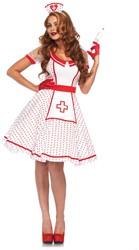 Verpleegstersjurk Nurse Nikki voor dames