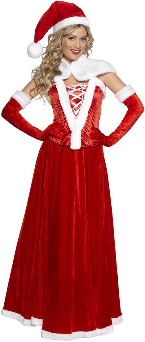 feee64f84f7 Kerstvrouw Kostuum Luxe voor dames