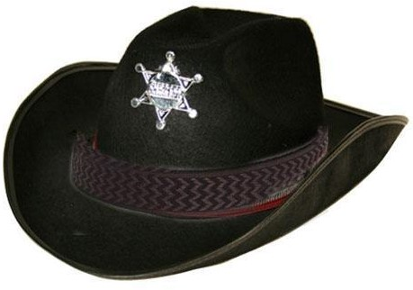 Cowboyhoed Sheriff
