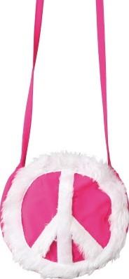 Tasje Peace Pink