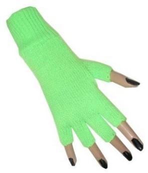 Vingerloze Handschoenen Neon Groen