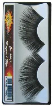 Wimpers zwart jumbo