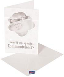 Uitnodigingen 8st Communie