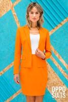 Dameskostuum OppoSuits Foxy Orange (sfeerbeeld)