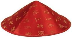 Hoed Vilt Chinees Rood