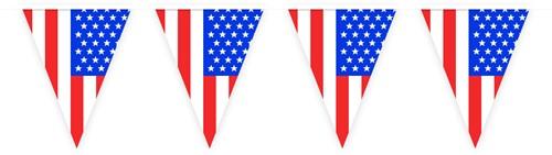 Vlaggenlijn  USA 10mtr.