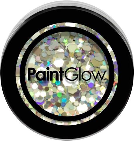 Paintglow Glitters Grof Zilver 3gr.