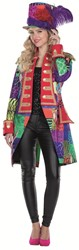 Dames Jas Patchwork Afrika Luxe
