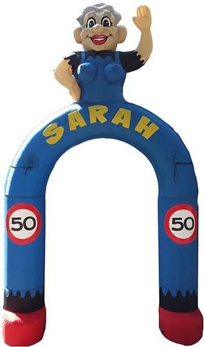Opblaasbare Sarah Boog (verhuur)
