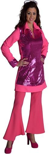 Hippie Broek Dames Pink