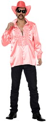 Disco Ruches Blouse Luxe Roze