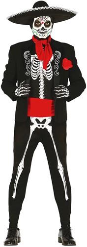 Kostuum Mexicaans Skelet - Day of the Dead