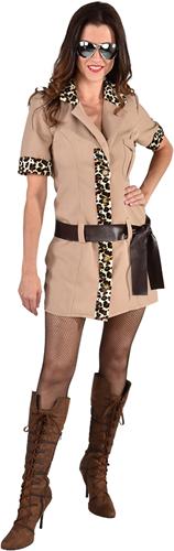 Dameskostuum Safari Girl Luxe