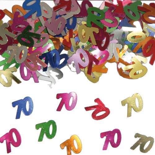 Confetti 70 Jaar