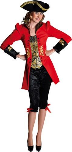 Dameskostuum Pirate / Lakei Luxe