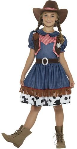 Texas Cowgirl Kostuum voor meisjes