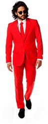 Herenkostuum OppoSuits The Red Devil