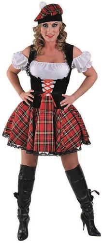 Jurkje Sexy Schotse Luxe voor dames