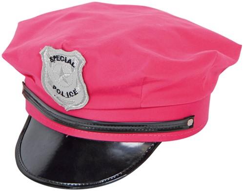 Politie Pet Neon Pink