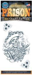 Tattoo Mexicaanse Bandito Skelleton