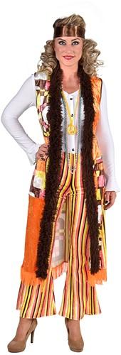 Dameskostuum Hippie Retro