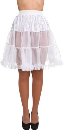 Petticoat Kniehoogte Wit