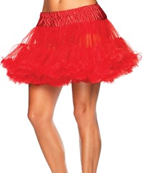 Petticoat Rood Luxe (2 laags)