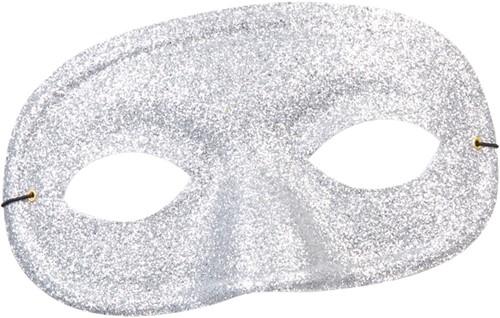 Oogmasker Glitter Zilver
