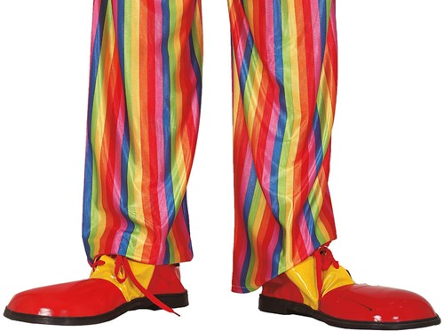 Clownsschoenen Rood-Geel