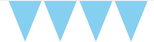 Vlaggenlijn Lichtblauw (10m)