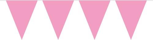 Vlaggenlijn Roze (10m)