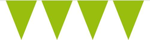 Vlaggenlijn Lime Groen (10m)