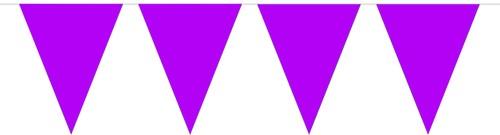 Vlaggenlijn Paars (10m)