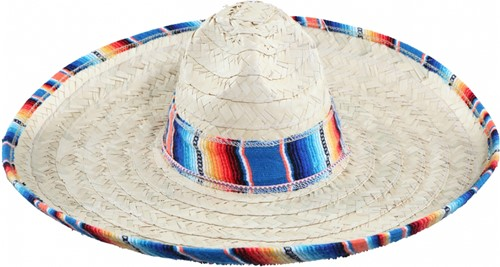 Sombrero Mexico Luxe Blauw