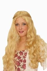 Pruik Jonkvrouw Luxe Blond