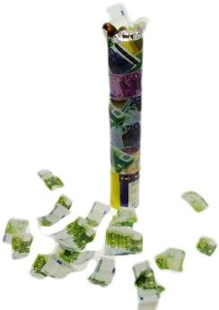 Party Popper Geld 30cm