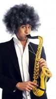 Opblaasbare Saxofoon Goud (voorbeeld)
