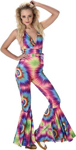 Jumpsuit Disco Seventies Tye Dye