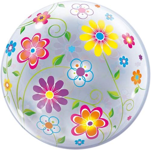 Bubble Ballon Floral Patterns