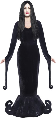 Heksenjurk Morticia Luxe - The Addams Family