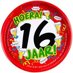 Dienblad Hoera! 16 jaar!