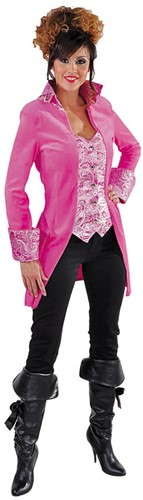 Damesjas Markiezin Pink