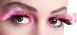Wimpers Flamboyant Zwart-Roze