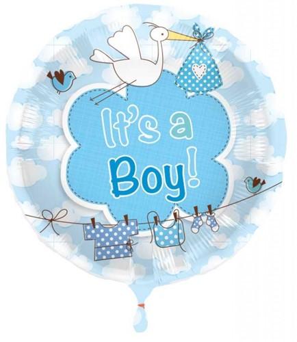 Folieballon It's a Boy 43cm