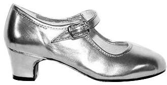 Kinderschoen Pump Zilver