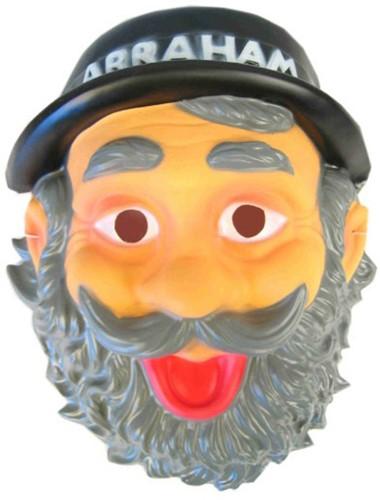 Masker Plastic Abraham met Hoed