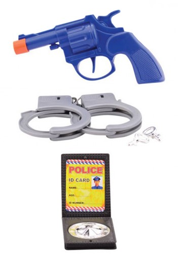 Kinder Politie Speelsetje 3dlg