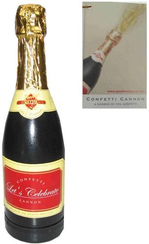 Champagnefles Confetti